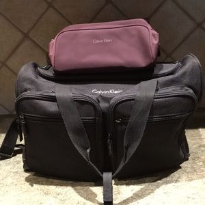9703c15923 Calvin Klein Weekender Bag Shaving Kit Bag